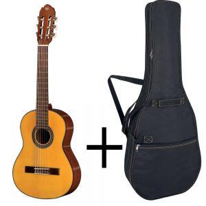 GEWA Classical Guitar STUDENT LINE – Klasična gitara 1/2, Natur + Futrola