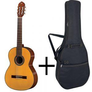 GEWA Classical Guitar STUDENT LINE – Klasična gitara 4/4, Natur + Futrola