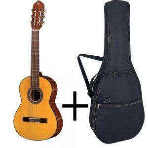 GEWA Classical Guitar STUDENT LINE – Klasična gitara 3/4, Natur + Futrola