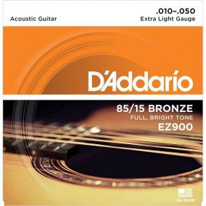 D'ADDARIO EZ900 – Set žica za akustičnu gitaru