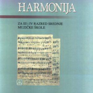 M. Živković: HARMONIJA za 3. i 4. r.
