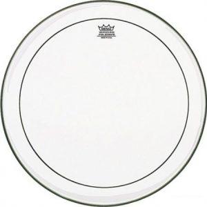 "REMO PS-1318-00 PINSTRIPE® Clear – Opna za bas bubanj 18"""