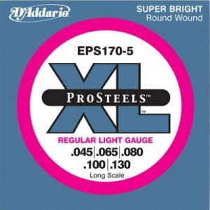 D'ADDARIO EPS 170-5 – Set žica za bas gitaru