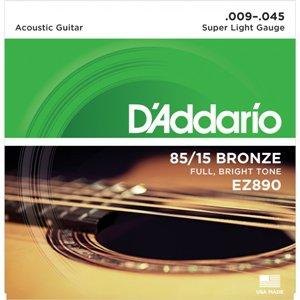 D'ADDARIO EZ890 – Set žica za akustičnu gitaru