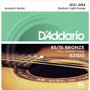 D'ADDARIO EZ920 – Set žica za akustičnu gitaru