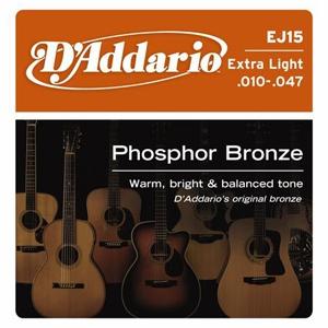 D'ADDARIO EJ15 – Set žica za  akustičnu gitaru