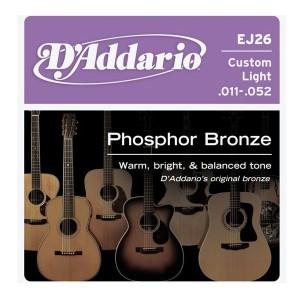 D'ADDARIO EJ26 – Set žica za  akustičnu gitaru