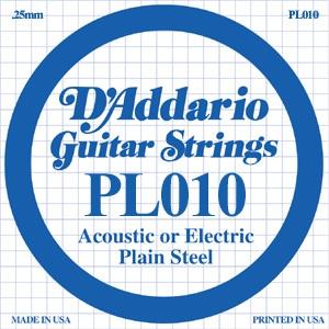D'ADDARIO PL010 – Pojedinačna žica za gitaru