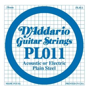 D'ADDARIO PL011 – Pojedinačna žica za gitaru