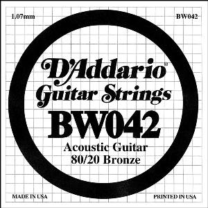 D'ADDARIO BW042 – Pojedinačna žica za akustičnu gitaru