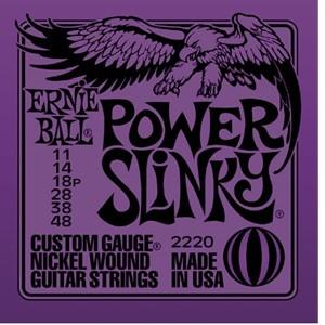 ERNIE BALL 2220 POWER SLINKY – Set žica za električnu gitaru
