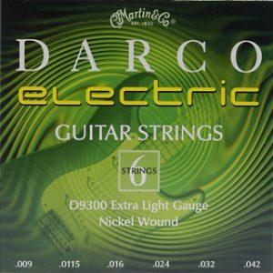 MARTIN & CO. D9300 – Set žica za električnu gitaru