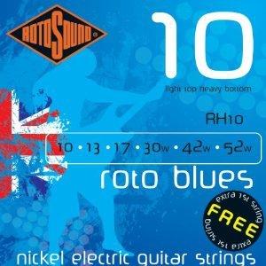 ROTOSOUND RH10 ROTO BLUES – Set žica za električnu gitaru
