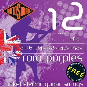 ROTOSOUND R12 ROTO PURPLES – Set žica za električnu gitaru
