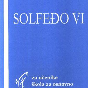 Vladimir Jovanović: SOLFEĐO 6