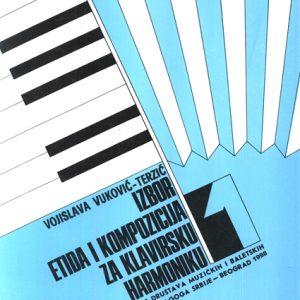 V. V. Terzić: Izbor etida i kompozicija za klavirsku harmoniku 1