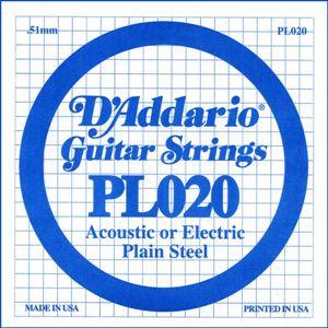 D'ADDARIO PL020 – Pojedinačna žica za gitaru