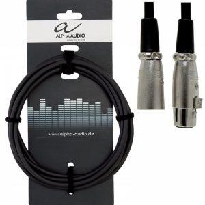 GEWA Basic Line ALPHA AUDIO Microphone cable – Mikrofonski kabel XLR(f) – XLR(m), 6m