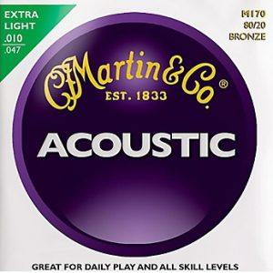 MARTIN & CO. M170 – Set žica za akustičnu gitaru