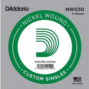D'ADDARIO NW030 – Pojedinačna žica za električnu gitaru