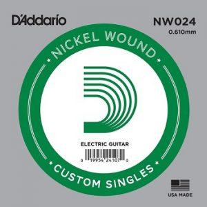 D'ADDARIO NW024 – Pojedinačna žica za električnu gitaru
