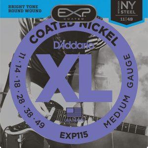 D'ADDARIO EXP115 – Set žica za električnu gitaru