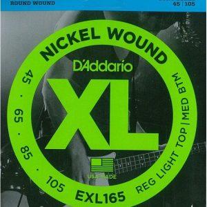 D'ADDARIO EXL165 – Set žica za bas gitaru