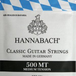 HANNABACH 500MT – Set žica za klasičnu gitaru