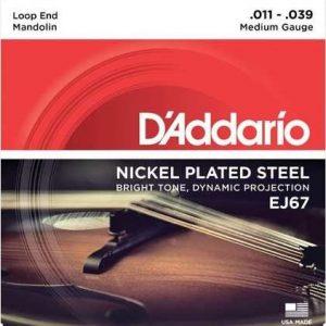D'ADDARIO EJ67 – Set žica za mandolinu
