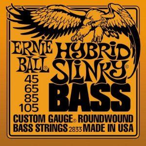 ERNIE BALL 2833 HYBRID SLINKY – Žice za bas gitaru