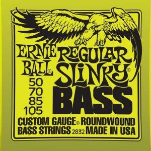 ERNIE BALL 2832 REGULAR SLINKY – Žice za bas gitaru