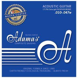 ADAMAS 1717NU Nuova Coated – Set žica za akustičnu gitaru