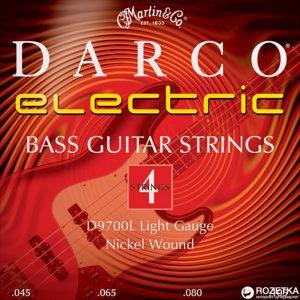 MARTIN & CO. D9700L – Set žica za bas gitaru